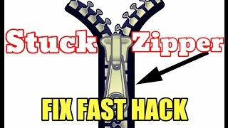 [NEW] Stuck Zipper Hack - How To Fix Stuck Zippers Fast + Easy (proof)
