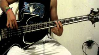 Not my Funeral - Children of Bodom [ Bass Cover ] Relentless Reckless Forever