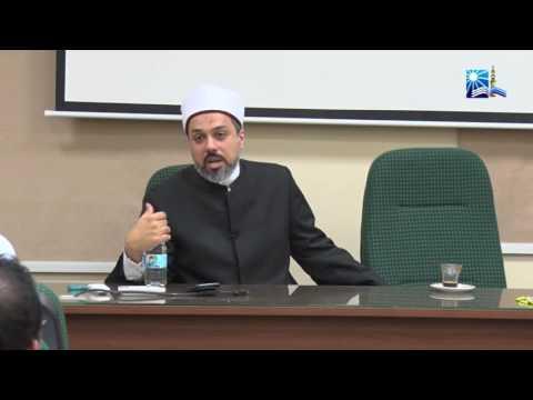 الشيخ/ أحمد ممدوح (من البرنامج التدريبي للموظفين الماليزيين)