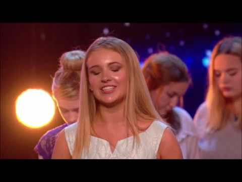 Angelica: Shy School Girls Bring The House To TEARS!! | Auditions 5 | Britain's Got Talent 2017