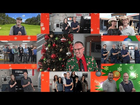 Happy Holidays from TRAK Machine Tools