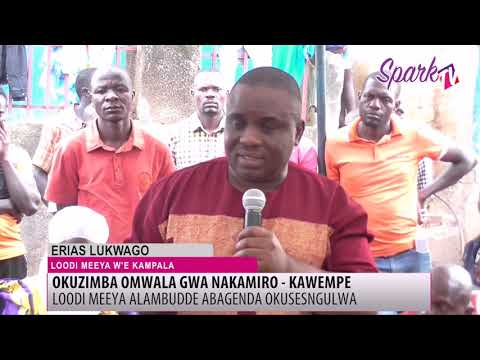 E Kazo basobeddwa lwa KCCA kubagoba ku mwala gwa Nakamiro