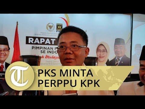 PKS Minta Presiden Terbitkan Perppu KPK