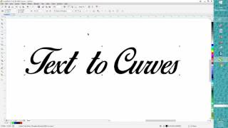 Corel Draw Tips & Tricks Text to Curves