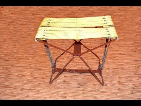 Раскладной походный стул своими руками. Folding camping chair with your hands