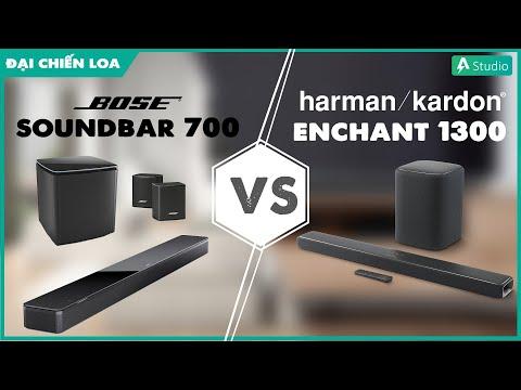 [Đại chiến loa] Bose Soundbar 700 vs Harman Kardon Enchant 1300  Đại chiến SOUNDBAR