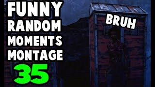 Dead by Daylight funny random moments montage 35