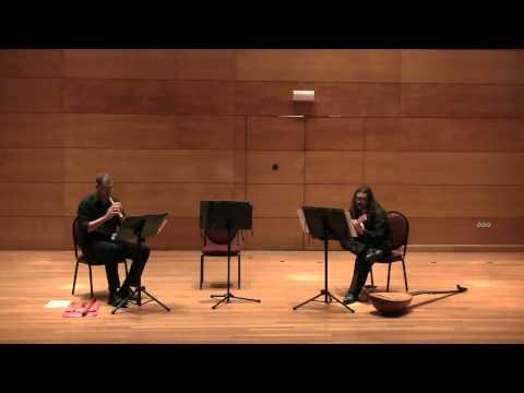 G.B. FONTANA Sonata terza for recorder and bass G. MATTEOLI descant recorder