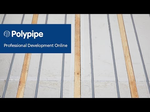 Polypipe Underfloor Heating - Suspended Floor Systems