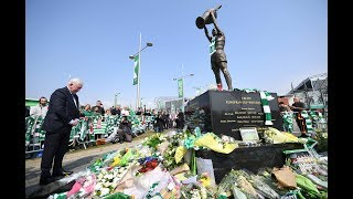Rangers pay tribute to Celtic legend Billy McNeill