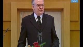 Stammapostel Wilhelm Leber in Herne-Wanne-Eickel (21. März 2010)