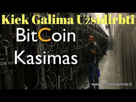 Bitcoin kritimas šiandien