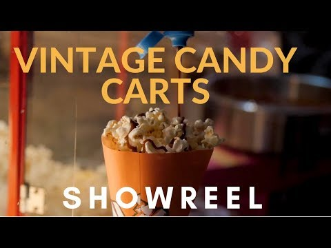 Vintage Candy Carts Video