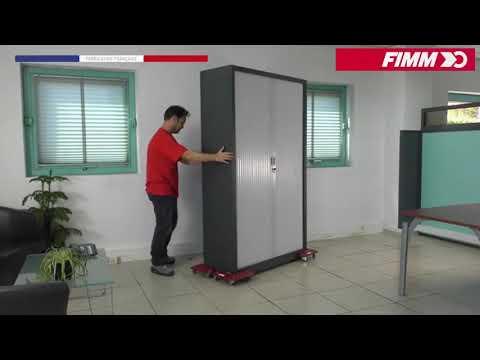 Coins roulants Plastiques FIMM CU 200 kg