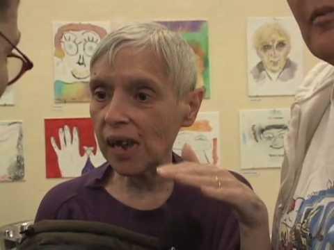 MTV Real World Brooklyn's Sarah presents art at LGBT Center