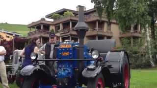 preview picture of video 'Lanz Bulldog am Oldtimer am Rigi in Küssnacht a.R.'