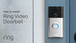 How To Replace Your Existing Wired Doorbell With Ring Video Doorbell