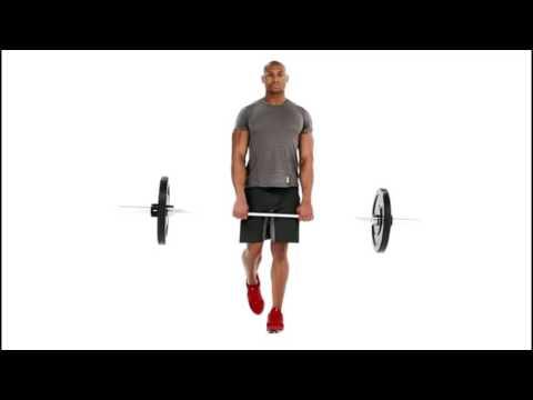 Single Leg Barbell Straight Leg Deadlift Exercise