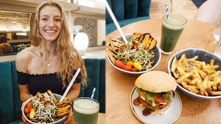 WHAT I EAT IN A DAY VLOG | Vegan Lunch Date in Toronto