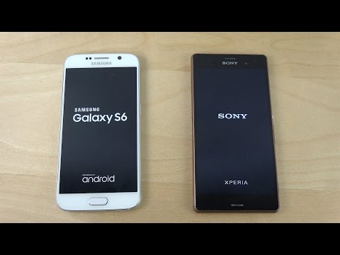 Sony XPeria Z3 Lollipop vs Samsung Galaxy S6