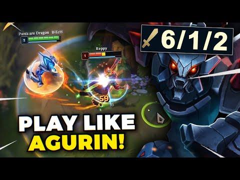 HOW TO PLAY KHAZIX LIKE AGURIN! (RANK 1 EUW) - League of Legends