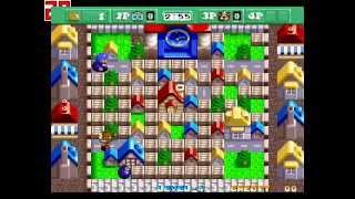 Neo Bomberman Gameplay Nivel 1-2 [Batalla]