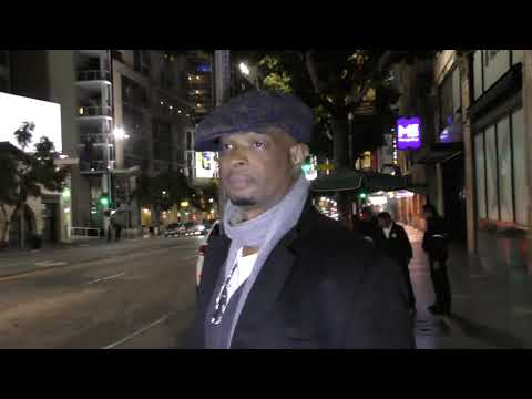 Damon Wayans stays silent on Blankman after dinner at Katsuya in Hollywood