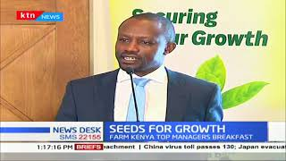 Uhuru\'s big four agenda gets a boost as firm Kenya steers an initiative to revolutionize agriculture
