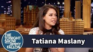Tatiana au Tonight Show de Jimmy Fallon - Août 2015