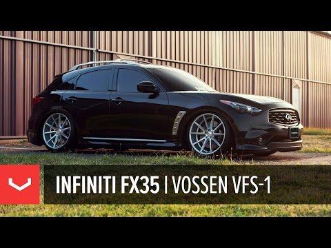 Infiniti FX35 | Vossen VFS-1 Wheels