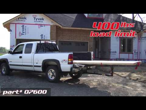 Big Bed Tailgate Extender video thumbnail