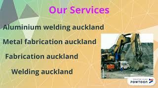 Worker for Work of Welding in Auckland
