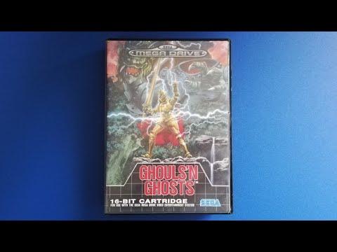 🎮Pequeño gameplay de Ghouls'n Ghosts para SEGA Mega Drive