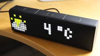 LaMetric Time () Test () Review () Deutsch () Desksmartwatch! Pixeluhr!