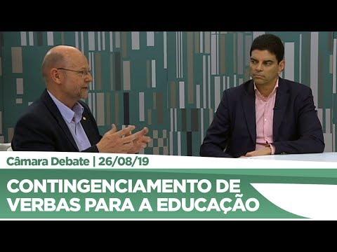 Deputados debatem contingenciamento de verbas para Educação