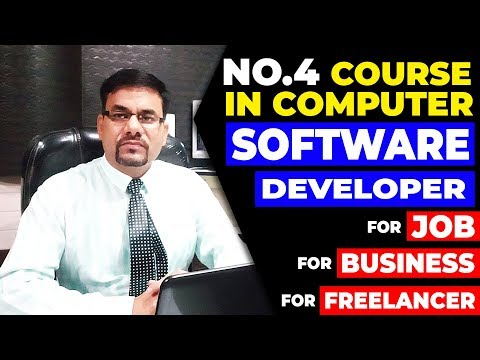 Course in computer for jobs and business | Software development