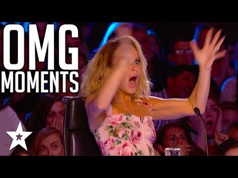 OMG Moments That SHOCKED Simon Cowell and Judges on Got Talent Global (видео)