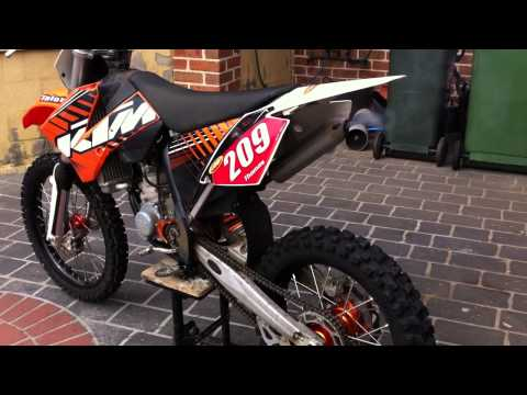 KTM 85SX Walkaround - Start Up