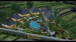 Video Desain Bungalow Villa Bali 1 Lantai Ibu Lis di  Karangasem, Bali