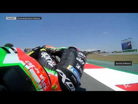 Aprilia Racing Team Gresini OnBoard: Gran Premi Monster Energy de Catalunya
