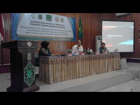 Kebijakan Penyelenggaraan Kesehatan Haji - Dr. dr. H. Eka Yusuf Singka, M.Sc