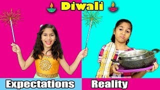 DIWALI : Expectations Vs Reality | Paris Lifestyle Diwali Video