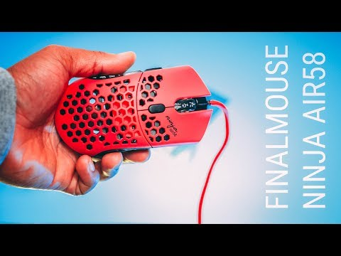 Finalmouse Ninja Air58 Review! Ninja's New Mouse.. Worth The Hype?