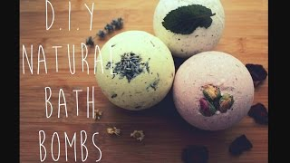 D.I.Y Natural Bath Bombs