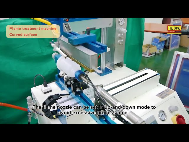 FAFP01-Flame (corona) Treatment Machine-plasma treatment for plane and cylindrical