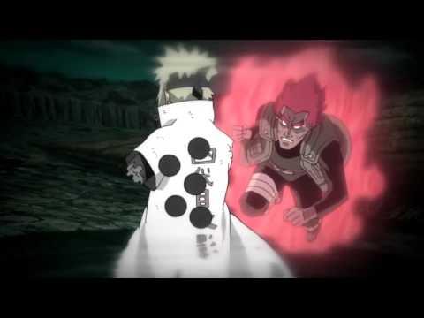 Guy 8 Gates Vs Madara [Naruto AMV] - Radioactive