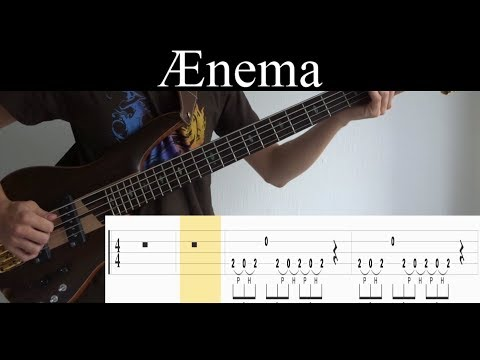 Ænema (Tool) - Bass Cover (With Tabs) by Leo Düzey