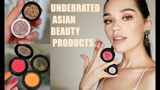 UNDERRATED ASIAN BEAUTY PRODUCTS | The BEST Korean And Japanese Beauty