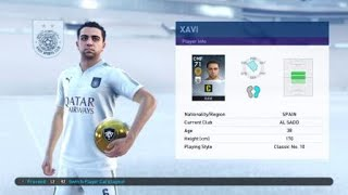 "XAVI Retired ""collection Of Old Stars"", FREE Scouts Big% Other (Asia), +Witsel, PES 2019 MyClub"