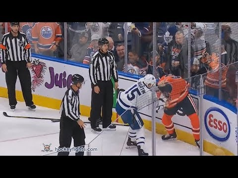 Zack Kassian vs. Matt Martin